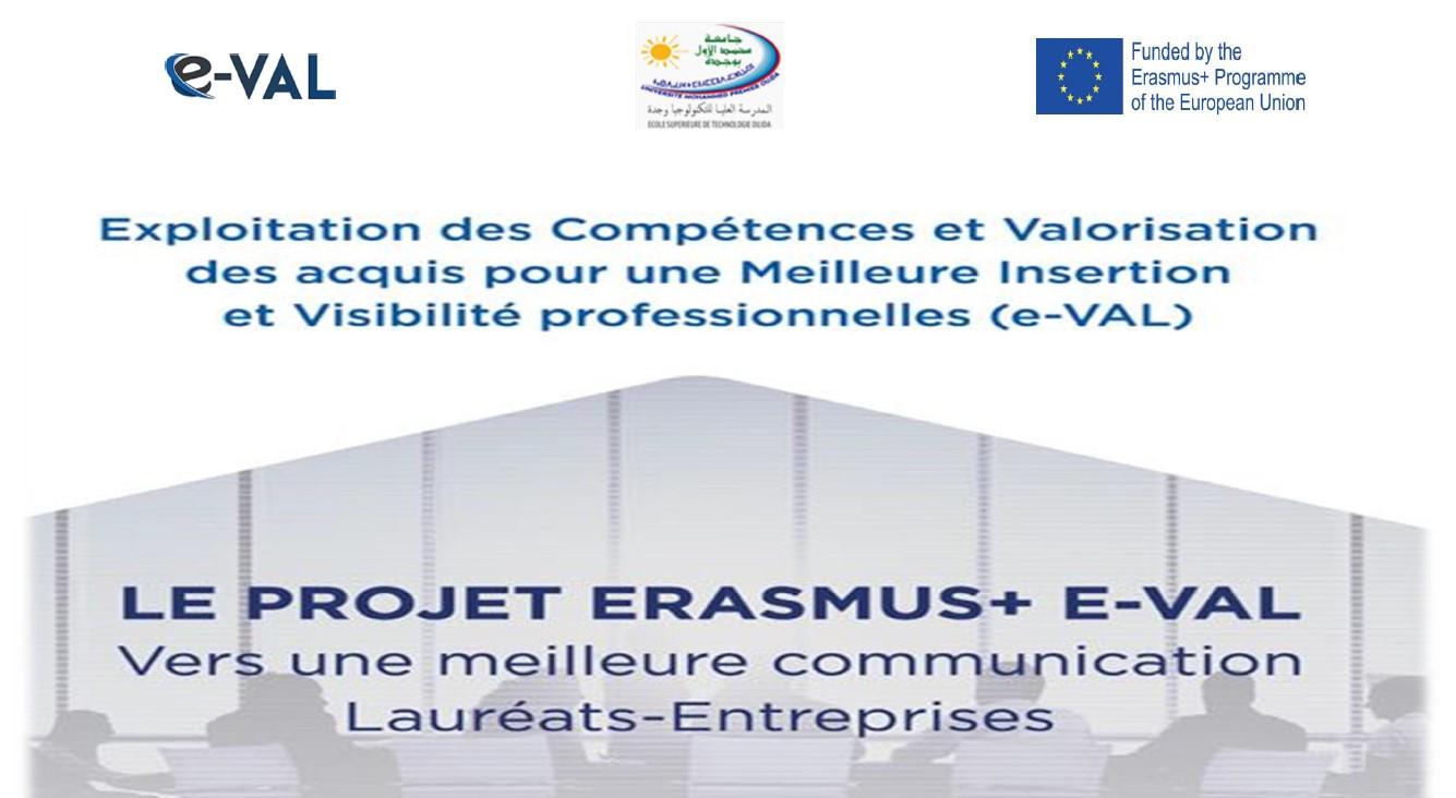 Séminaire d'information du projet Erasmus+ E-val