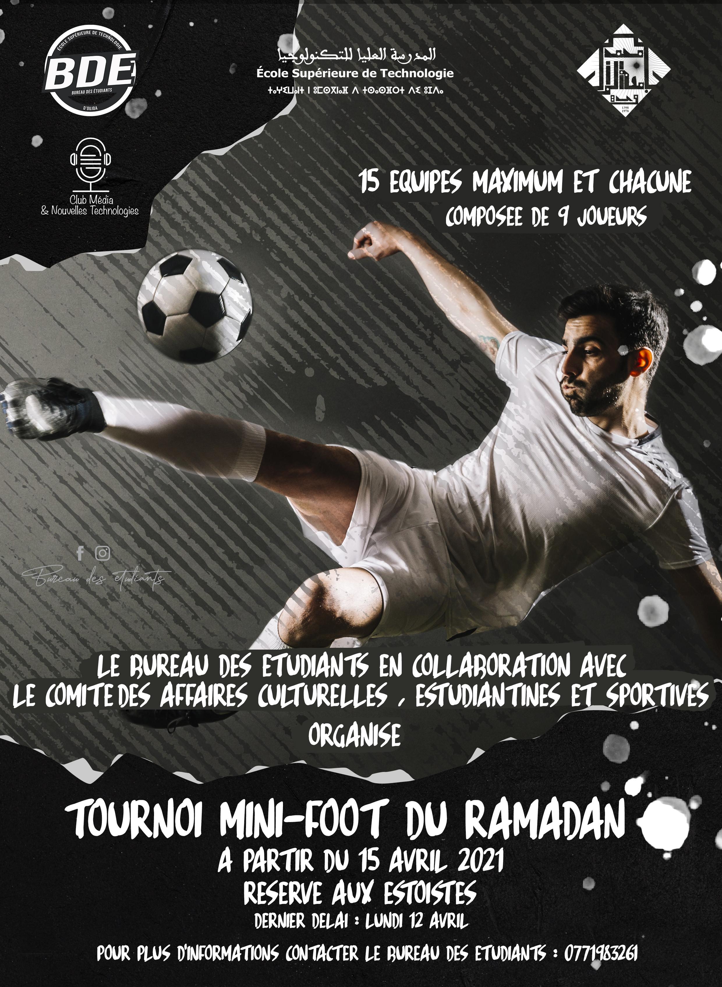 Tournoi mini-foot du RAMADAN 1442